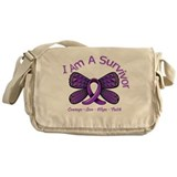 Sarcoidosis I'm A Survivor Messenger Bag