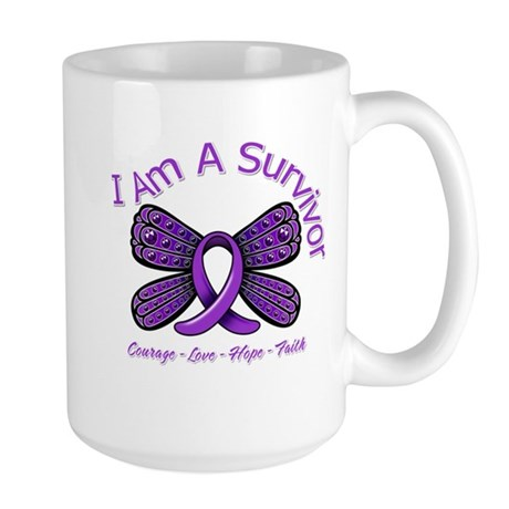 Sarcoidosis I'm A Survivor Large Mug
