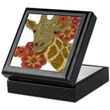 Jewel Giraffe Keepsake Box