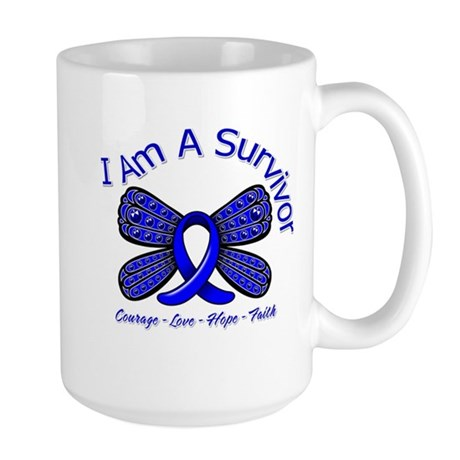 Rectal Cancer I'm A Survivor Large Mug