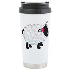 Little Lamb Ceramic Travel Mug