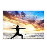 You Are a Warrior! Postcards (Package of 8)