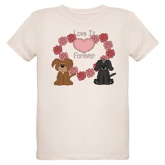 Love Dogs Forever Organic Kids T-Shirt