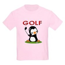 Golf Penguin (2) T-Shirt