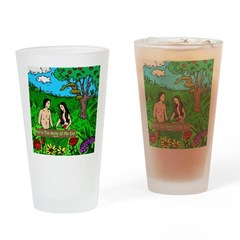 Apple Bible Drinking Glass
