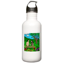 Apple Bible Stainless Water Bottle 1.0L