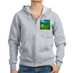Apple Bible Women's Zip Hoodie