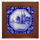 Castle Tile: Framed Tile