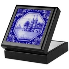 Castle Tile: Keepsake Box