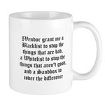 Three Pronged Defense Mug