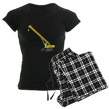 A Plain Crane Pajamas