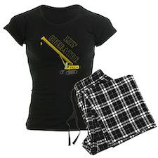 Lil' Crane Operator pajamas