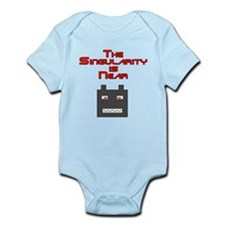 The Singularity is Near 2 Infant Bodysuit