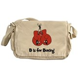B is for Boxing Messenger Bag