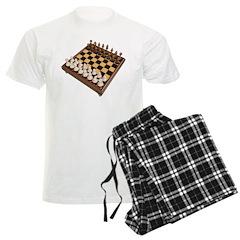 3D Chess Set Men's Light Pajamas