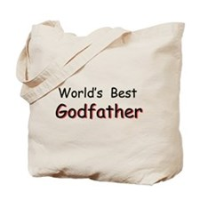 World's Best Godfather Tote Bag