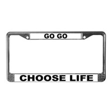 Choose Life License Plate Frame