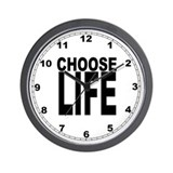 Choose Life Wall Clock