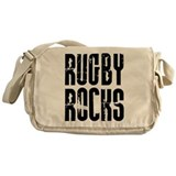 Rugby Rocks Messenger Bag