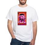PEACE Dog- Golden Retriever 1-sided T-shirt