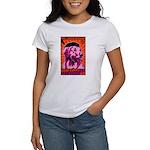 PEACE dog- Golden Retriever Women's T-Shirt