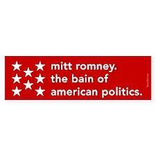 Mitt Romney the Bain Bumper Sticker