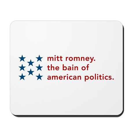 Mitt Romney the Bain Mousepad