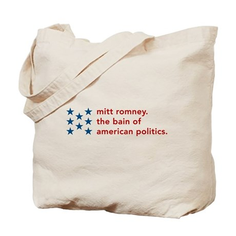 Mitt Romney the Bain Tote Bag