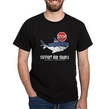 SOS White Shark - Stop Finning T-Shirt