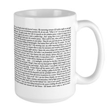The Love Song of J. Alfred Prufrock Mug