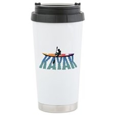 Kayak Ripple Ceramic Travel Mug