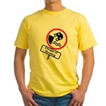 The Flood Plain Yellow T-Shirt