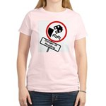 The Flood Plain Women's Pink T-Shirt