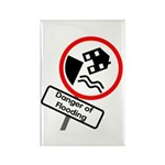 The Flood Plain Rectangle Magnet (100 pack)