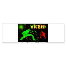 wicked guitarist Bumper Sticker