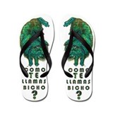 Como Te llamas bicho Flip Flops