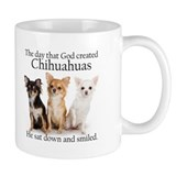 God & Chihuahuas Small Mug