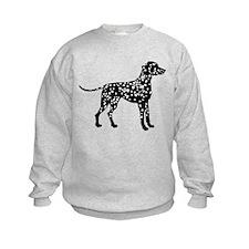 Dalmatian Silhouette Sweatshirt