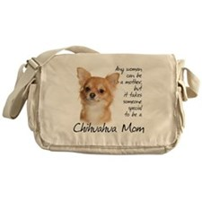 Chihuahua Mom Messenger Bag