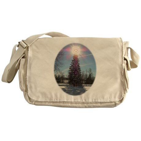 Christmas Peace Messenger Bag