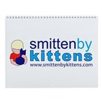 Smitten By Kittens Wall Calendar