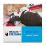Smitten By Kittens Tile Coaster