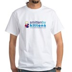 Smitten By Kittens White T-Shirt
