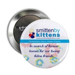 "Smitten By Kittens 2.25"" Button (10 pack)"
