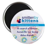 "Smitten By Kittens 2.25"" Magnet (10 pack)"