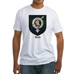 Blyth Clan Badge Tartan Fitted T-Shirt