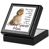 Cocker Mom Keepsake Box