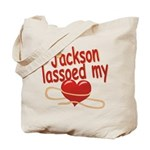 Jackson Lassoed My Heart Tote Bag