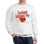 Jackson Lassoed My Heart Sweatshirt