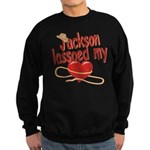 Jackson Lassoed My Heart Sweatshirt (dark)